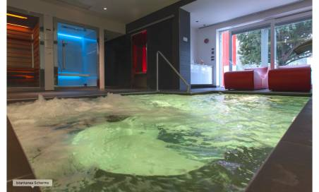 Percorso exclusive spa da Villa Nesi